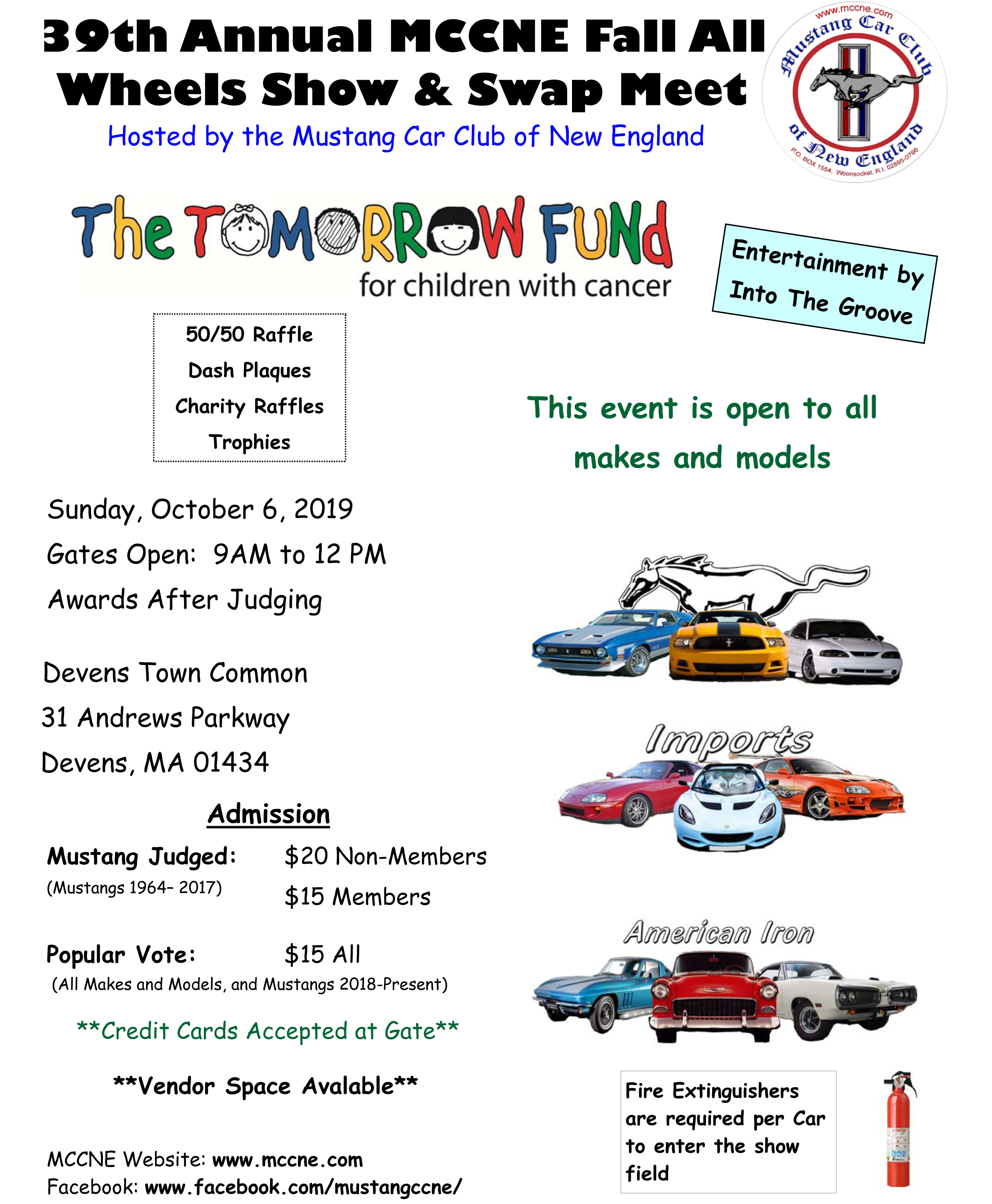 Mustang Car Club of New England - Events